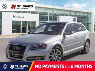 Used 2011 Audi A3 TDI Premium, Keyless Entry, Power Sunroof, Heated Seats for sale in Winnipeg, MB