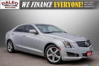 Used 2013 Cadillac ATS LUX / BACK UP CAM / HEATED SEATS / LOW KMS for sale in Hamilton, ON