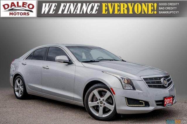 2013 Cadillac ATS LUX / BACK UP CAM / HEATED SEATS / LOW KMS Photo1