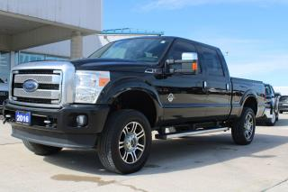 Used 2016 Ford F-350 Platinum for sale in Tilbury, ON