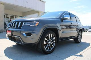 Used 2018 Jeep Grand Cherokee Limited for sale in Tilbury, ON