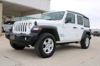 Used 2020 Jeep Wrangler SPORT for sale in Tilbury, ON