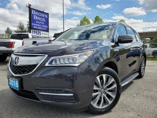 Used 2016 Acura MDX Nav Pkg, LOCAL, LOW KM for sale in Surrey, BC