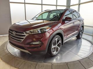 Used 2017 Hyundai Tucson Heated Leather Seats | Pano Roof | No Accidents for sale in Edmonton, AB