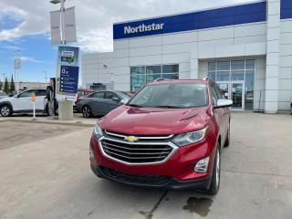 Used 2018 Chevrolet Equinox PREMIER/WIRELESSCHARGING/NAV/LEATHER/BACKUPCAM for sale in Edmonton, AB