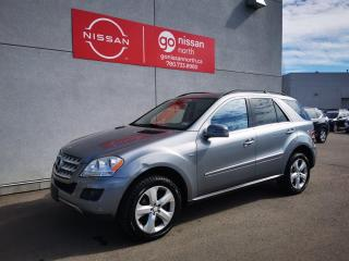 Used 2011 Mercedes-Benz ML-Class ML 350 BlueTEC 4dr AWD 4MATIC for sale in Edmonton, AB