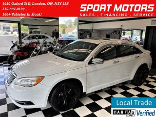Used 2013 Chrysler 200 Limited 3.6L V6+New Tires+Brakes+Leather+Roof+ for sale in London, ON