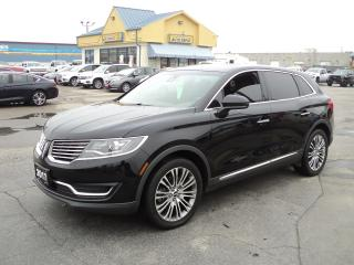 Used 2017 Lincoln MKX Reserve AWD 3.7L PanoramicRoof Nav LeatherHeated for sale in Brantford, ON
