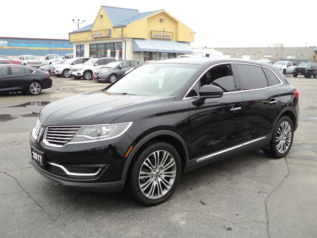 2017 Lincoln MKX Reserve AWD 3.7L PanoramicRoof Nav LeatherHeated