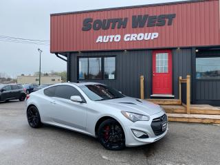 Used 2014 Hyundai Genesis Coupe GT 3.8|NAV|Exhaust|Sunroof|Htd Lthr Seats for sale in London, ON
