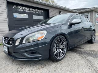 Used 2013 Volvo S60 R-Design with Polestar Upgrade for sale in Kingston, ON