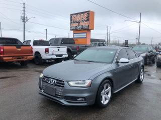 Used 2013 Audi S4 Premium**SUNROOF*LEATHER*NAVI*LOADED**CERT for sale in London, ON