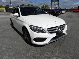 Used 2016 Mercedes-Benz C-Class C300 4Matic Fully Loaded No Accidents for sale in Windsor, ON