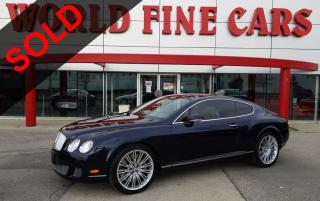 Used 2008 Bentley Continental GT Speed | *600 HP W12* | All-Wheel Drive for sale in Etobicoke, ON