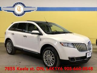 Used 2012 Lincoln MKX AWD, Fully Loaded, 2 Years Warranty for sale in Vaughan, ON