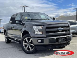 Used 2017 Ford F-150 Lariat LEATHER HEATED SEATS/ STEERING, NAVIGATION for sale in Midland, ON
