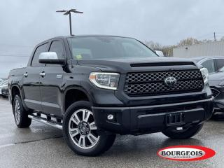 Used 2018 Toyota Tundra Platinum 5.7L V8 LEATHER, NAVIGATION, SUNROOF for sale in Midland, ON