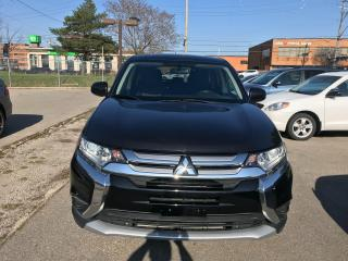 Used 2016 Mitsubishi Outlander ES,AWD,NO ACCIDENT,SAFETY+3YRS WARRANT INCLUD for sale in Toronto, ON
