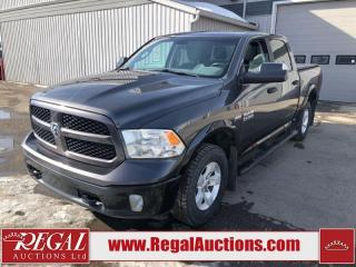 Used 2017 RAM 1500 Outdoorsman Crew CAB SWB 4WD 5.7L for sale in Calgary, AB