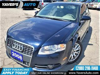 Used 2008 Audi A4 2.0T for sale in Hamilton, ON