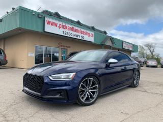 Used 2018 Audi S5 3.0T Technik TECHNIK! | 1 OWNER! | ACCIDENT FREE! | ONTARIO VEHICLE! for sale in Bolton, ON