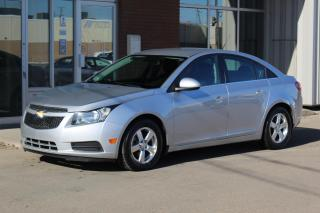 Used 2013 Chevrolet Cruze LT Turbo LT - ACCIDENT FREE - LOCAL VEHICLE for sale in Saskatoon, SK