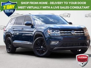 Used 2019 Volkswagen Atlas 3.6 FSI Execline EXECLINE | AWD 3.6L V6 | POWER SEATS | NAVIGATION | HEATED STEERING WHEEL for sale in Waterloo, ON