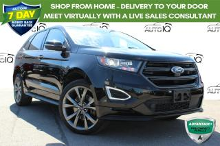 Used 2017 Ford Edge Sport SPORT 2.7LTR  NAVIGATION PANORAMIC SUNROOF for sale in Hamilton, ON