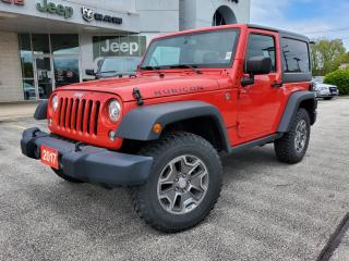 Used 2017 Jeep Wrangler RUBICON for sale in Sarnia, ON