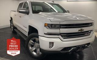 Used 2016 Chevrolet Silverado 1500 4WD CREW CAB LTZ w-2LZ *HTD LEATHER - NAVIGATION* for sale in Winnipeg, MB