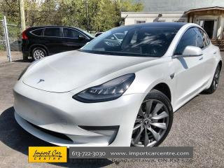 Used 2019 Tesla Model 3 Standard Range Plus UPGRADED WHEELS  LEATHER  PANO for sale in Ottawa, ON