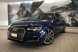 Used 2017 Audi A4 2.0T Technik + S-Line | Pano Roof | Nav for sale in Whitby, ON