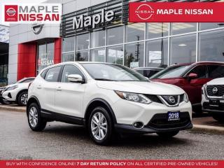 Used 2018 Nissan Qashqai SV Blind Spot Remote Start Moonroof Backup Camera for sale in Maple, ON