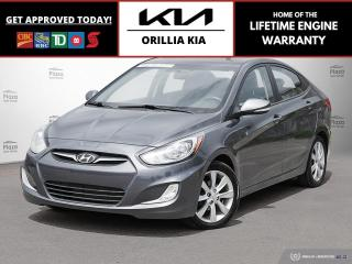 Used 2013 Hyundai Accent GLS for sale in Orillia, ON