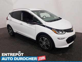 Used 2019 Chevrolet Bolt EV Premier - Apple\Android - Climatiseur - Cuir for sale in Laval, QC