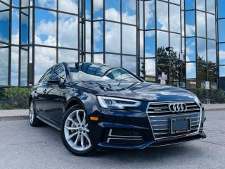 Used 2018 Audi A4 TECHNIK|REAR VIEW|BROWN LEATHER|SUNROOF|VENTED SEATS| for sale in Brampton, ON