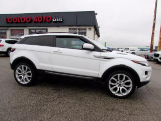 Used 2012 Land Rover Evoque Pure Premium Coupe AWD Navigation Camera Certified for sale in Milton, ON
