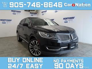 Used 2017 Lincoln MKX RESERVE | AWD | ROOF |DRIVER ASSIST PKG |21'' RIMS for sale in Brantford, ON