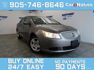 Used 2010 Buick LaCrosse BLUETOOTH | ONLY 54 KM! | OPEN SUNDAYS! for sale in Brantford, ON