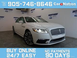 Used 2017 Lincoln Continental RESERVE | TECH PKG | AWD | NAV | LEATHER |20