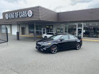 Used 2017 Ford Fusion Sport Ecoboost AWD WITH AUTONOMOUS BRAKING for sale in Langley, BC