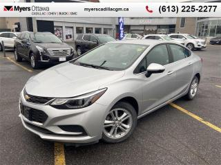 Used 2017 Chevrolet Cruze LT  LT, HEATED SEATS, REAR VISION CAMERA, ALLOY WHEELS for sale in Ottawa, ON