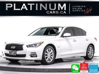 Used 2016 Infiniti Q50 2.0T, AWD, NAV, CAM, HEATED SEATS, BT, SUNROOF for sale in Toronto, ON