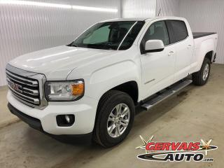 Used 2019 GMC Canyon SLE 4x4 V6 CREW CAB MAGS BLUETOOTH CAMÉRA *Bas Kilométrage* for sale in Shawinigan, QC