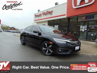 Used 2017 Honda Civic Sedan Touring for sale in Peterborough, ON