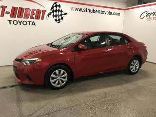Used 2016 Toyota Corolla CVT LE, CAMÉRA DE RECUL for sale in St-Hubert, QC