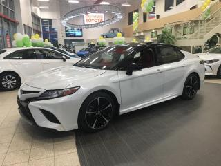 Used 2018 Toyota Camry XSE V6, TOIT, CUIR ROUGE for sale in St-Hubert, QC