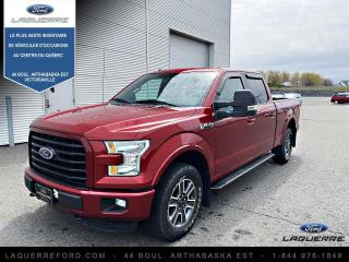 Used 2015 Ford F-150 Cabine Super 4RM 145 po XLT for sale in Victoriaville, QC