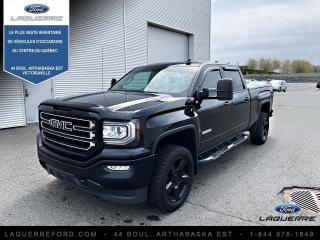 Used 2017 GMC Sierra 1500 4 RM, Cabine multiplaces 143,5 po, SLE for sale in Victoriaville, QC