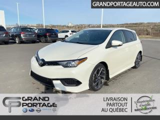 Used 2017 Toyota Corolla iM Hayon 4 portes BM for sale in Rivière-Du-Loup, QC